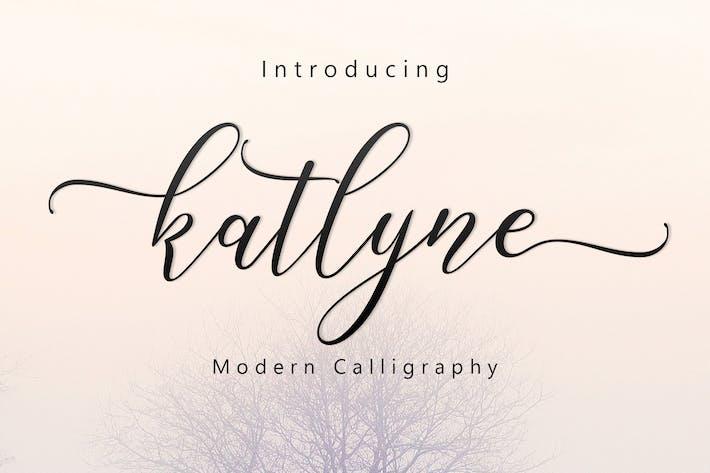Thumbnail for Katlyne Script