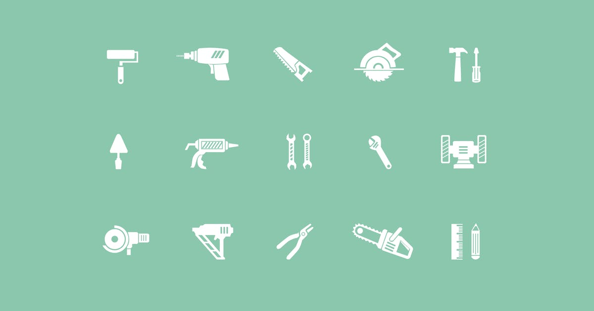 Download 15 Construction and Building Icons by creativevip