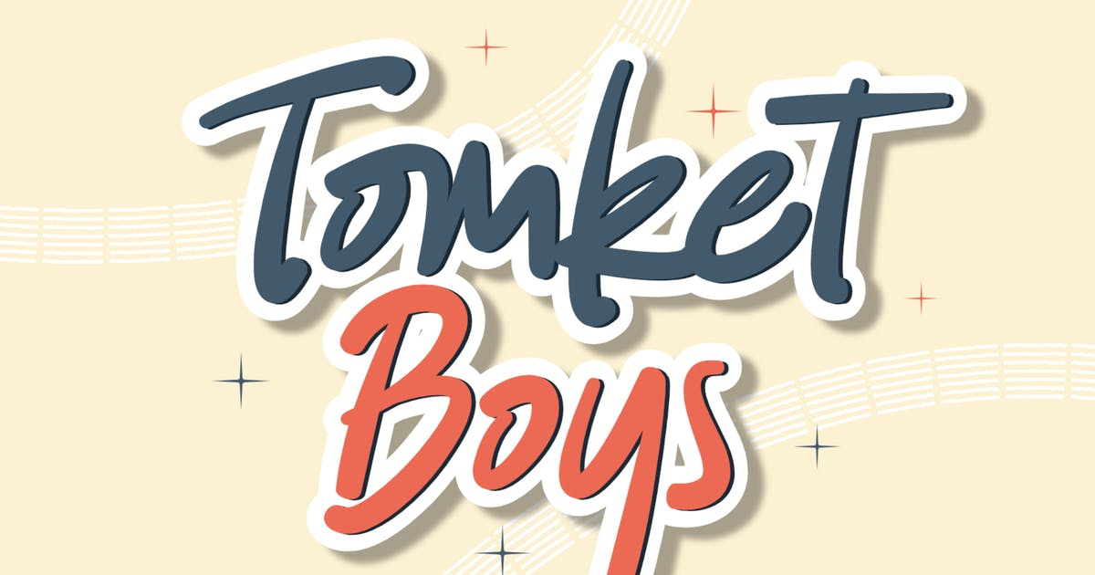 Download DS Tomket Boys - Playful Typeface by allfridaystudio