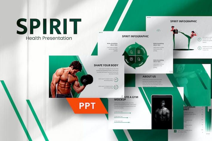 Spirit Gym Powerpoint Template