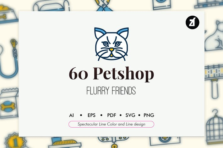 Thumbnail for 60 Petshop and pet elements