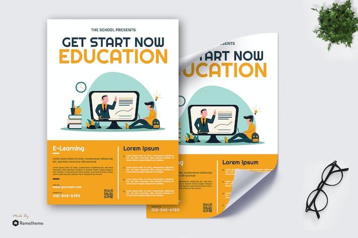 Thumbnail for Online Education - Poster GR