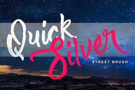Quick Silver Logotype Brush
