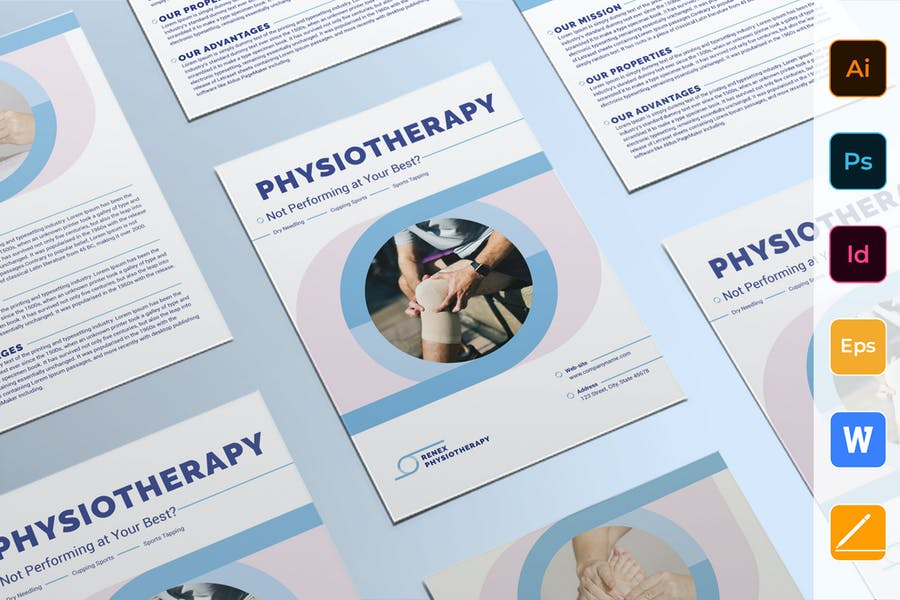 Physiotherapy Flyer