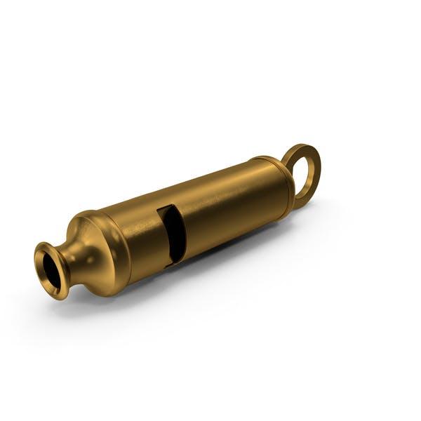 Vintage Metropolitan Brass Whistle