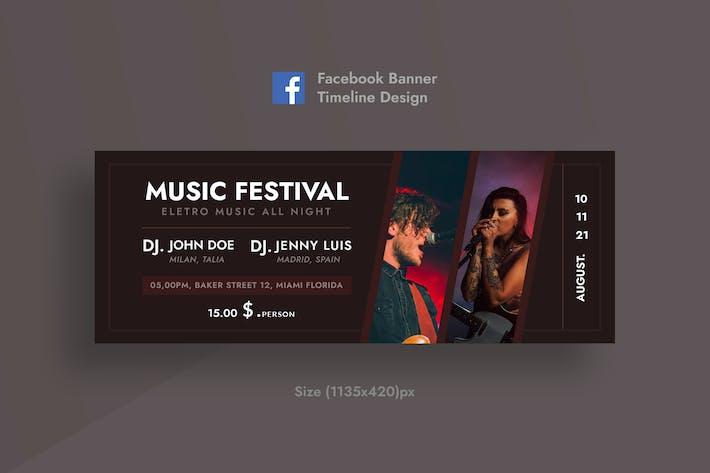 Music Festival Facebook Timeline Cover & Banner