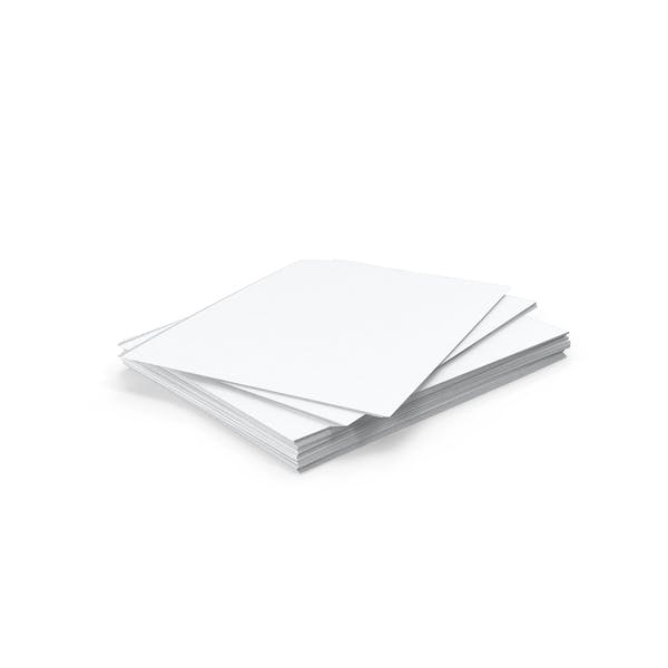 Stack of Paper Sheets