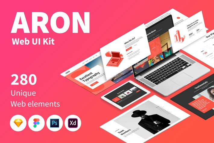 Thumbnail for ARON Web UI Kit