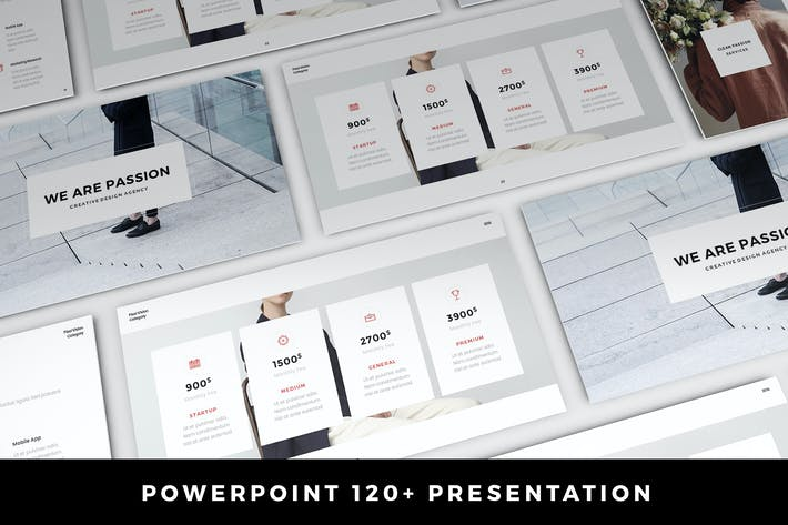 Passion Presentation 120+ Slides