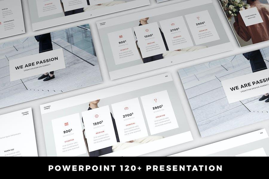 Passion Presentation 120+ Slides