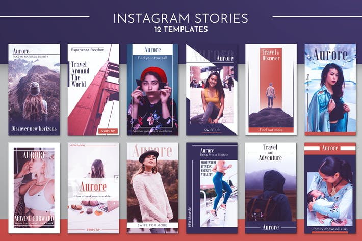 Thumbnail for Instagram Story Template Kit
