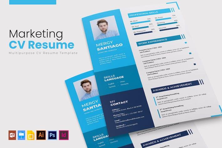 Thumbnail for Marketing | CV & Resume