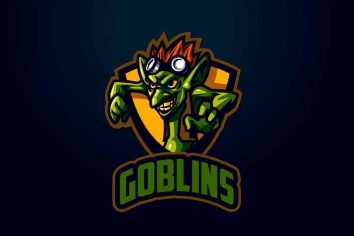 Cover Image For Goblin Mascot Esports Logo
