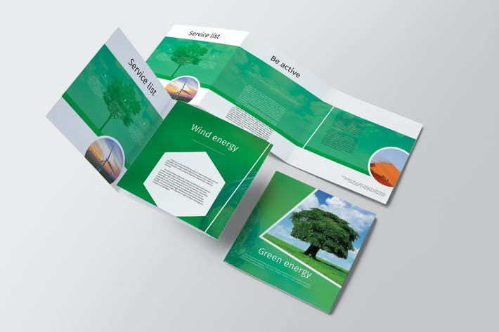 Cover Image For Green Energy Trifold Brochure