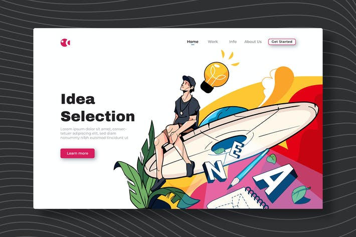 Thumbnail for Idea Selection - Landing Page