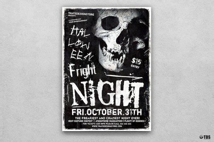 Thumbnail for Halloween Flyer Template V12