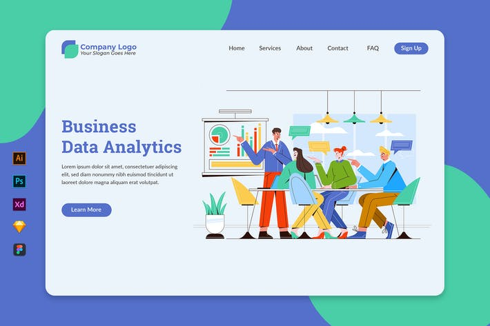 Thumbnail for Business Data Analytics - Landing Page