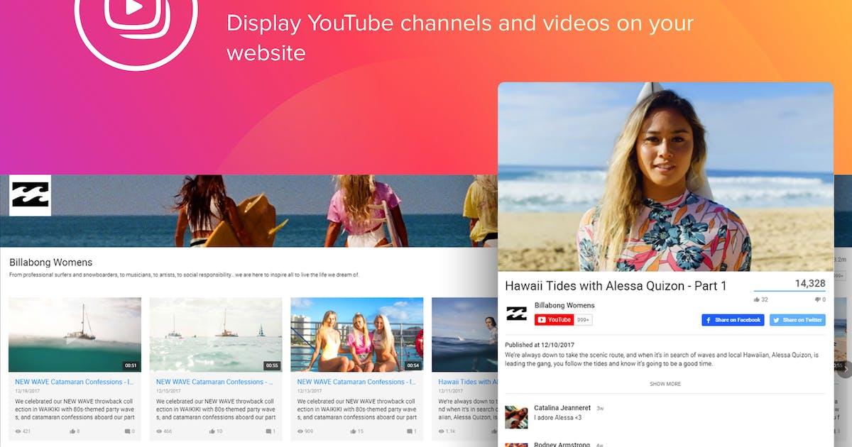 Download WordPress YouTube Gallery Plugin by Elfsight