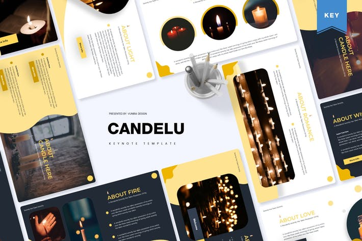 Thumbnail for Candelu | Keynote Template