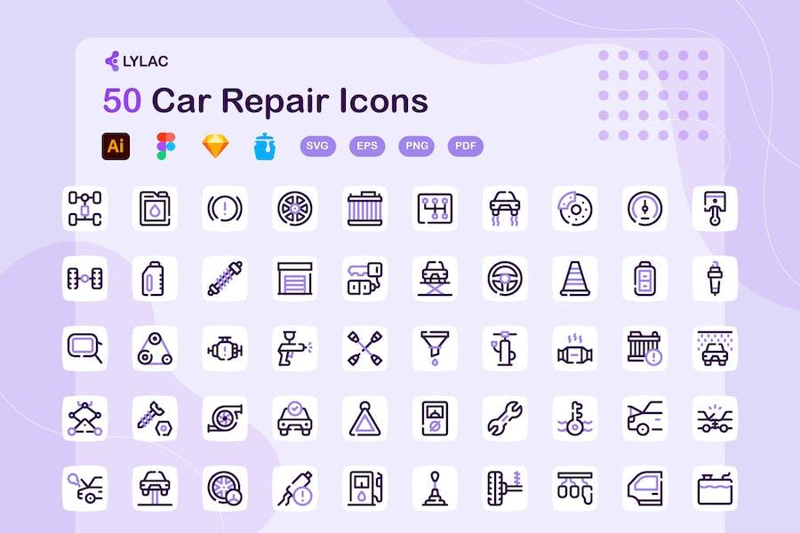 Lylac - Car Repair Icons