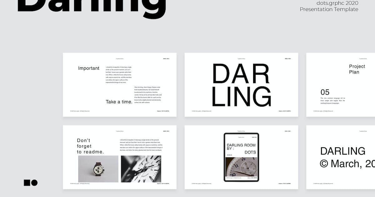 Download Darling - Keynote by graptailtype