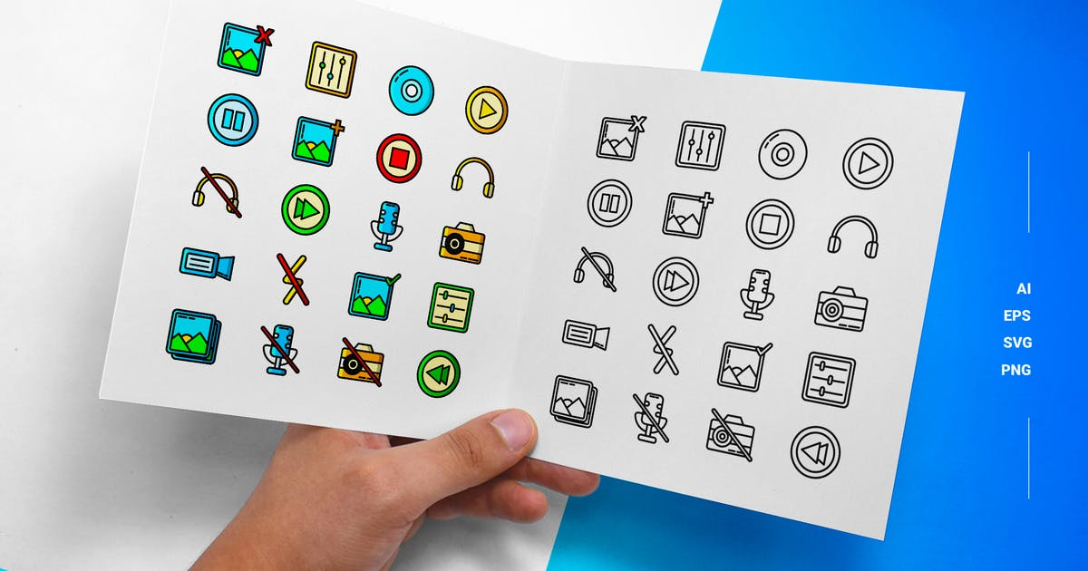 Download Multimedia - Icons by esensifiksi