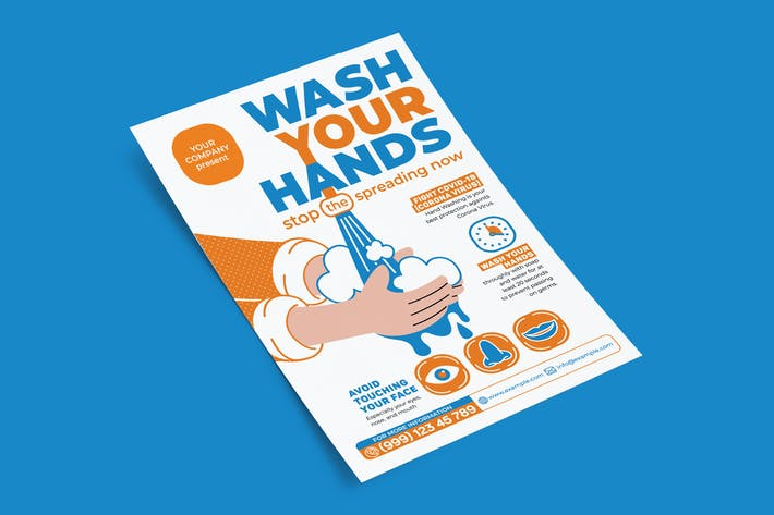 Thumbnail for Wash Your Hand-Flyer