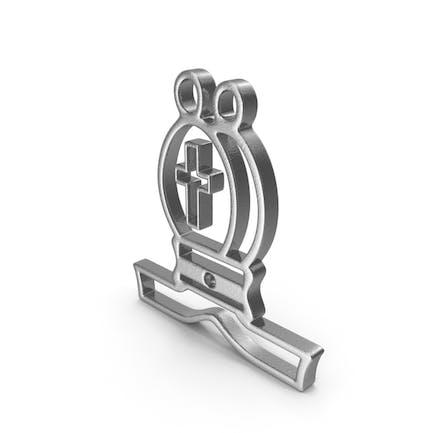 Bishop Logo Silver