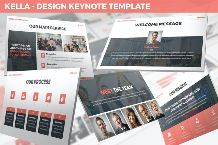 Thumbnail for Kella - Design Keynote Template