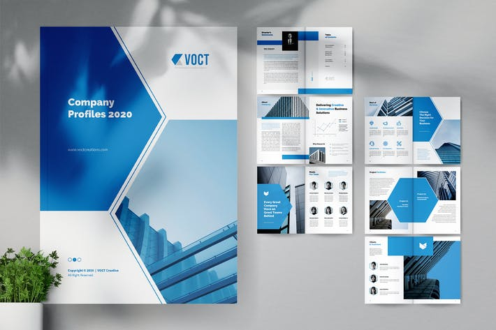 Thumbnail for VOCT Creative Agency Company Profile Brochure