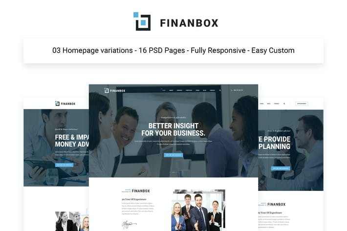 Thumbnail for FINANBOX - Multipurpose Business & Corporate Busin