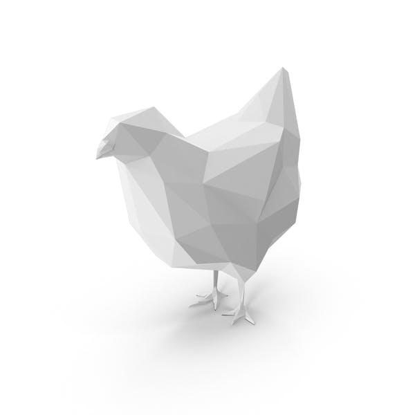 Thumbnail for Low Poly Chicken
