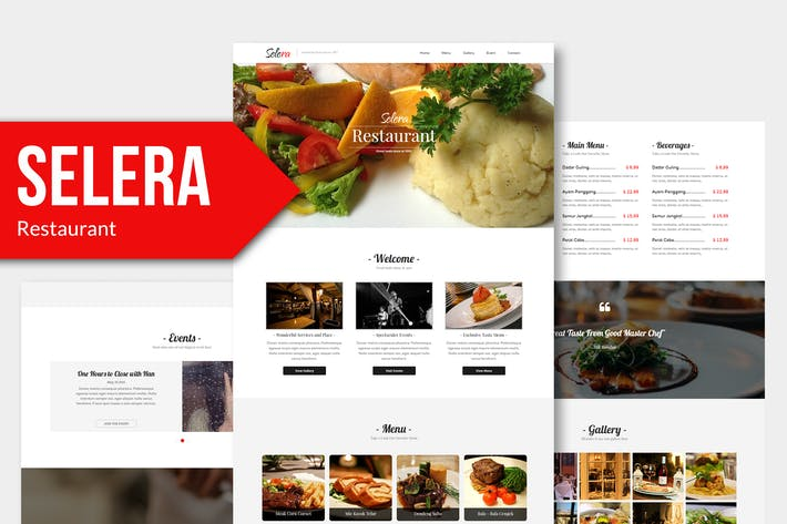 Thumbnail for Selera - Restaurant, Cafe & Bar Muse Template