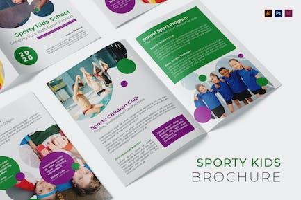 Sporty Kids Brochure