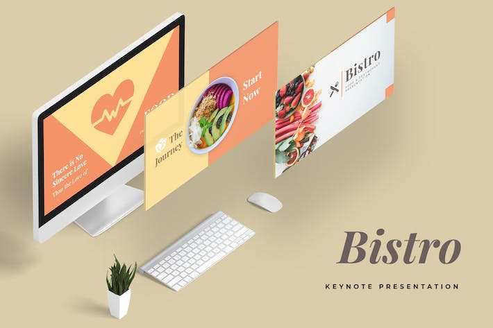 Thumbnail for Bistro Restaurant Keynote Presentation