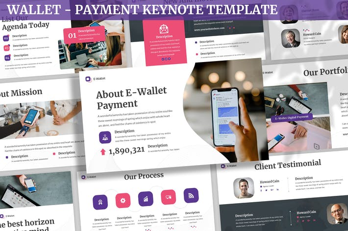 Wallet - Payment Keynote Template
