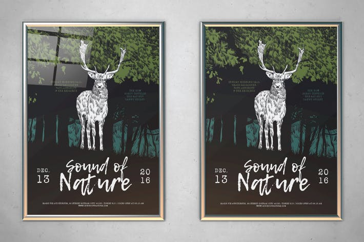 Thumbnail for Sound of Nature Flyer