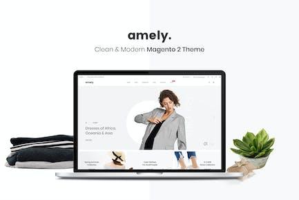 Amely - Чистый и современный Magento 2 Тема