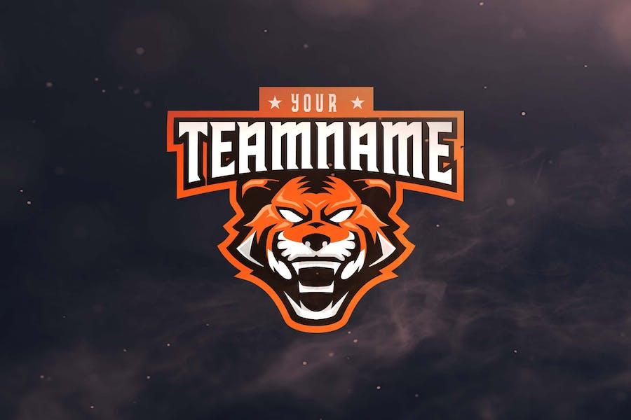 Tiger Sport and Esports Logos