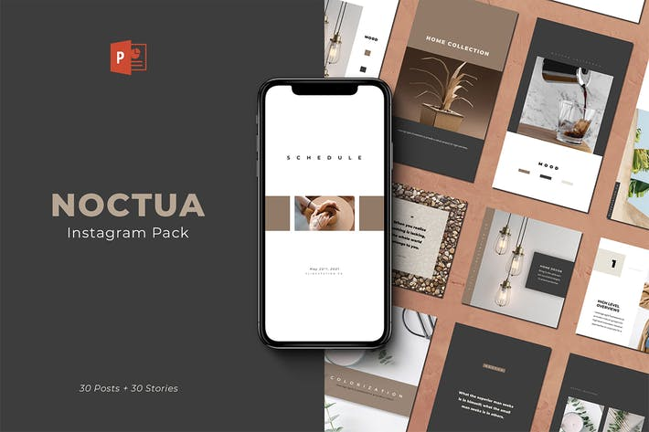 Thumbnail for Noctua PowerPoint Instagram Pack