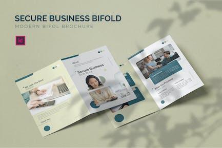 Secure Business - Bifold Brochure