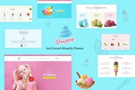 Drippy - Responsive IceCream Shopify Tema