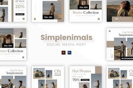 Simplenimals Socmed Post