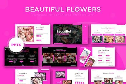 Beautiful Flowers - Powerpoint Template