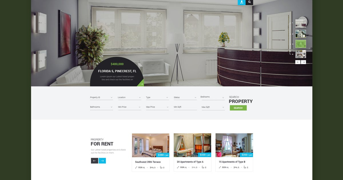 Download Property Expert - Real Estate HTML Template by WPmines