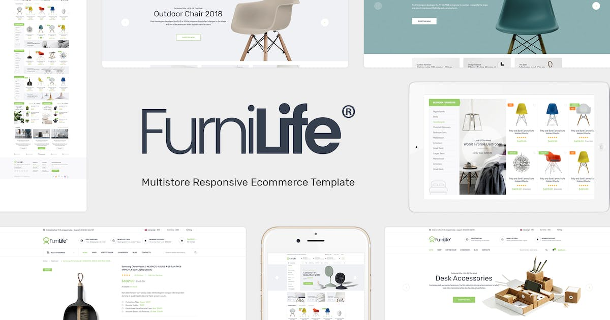Furnilife - Decorations & Supplies Magento Theme by Plaza-Themes