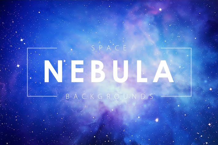 Cover Image For Space Nebula Backgrounds