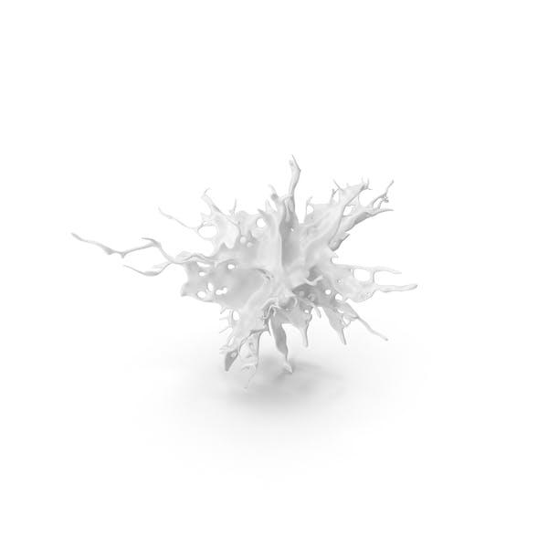 Белый брызг