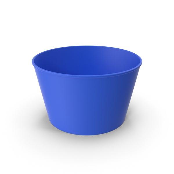 Бумажная стаканка Синий