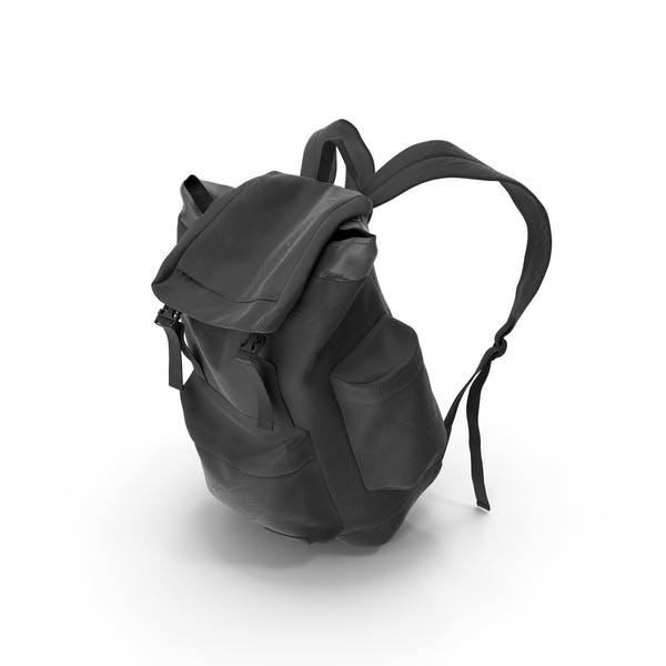 Мужской рюкзак черный